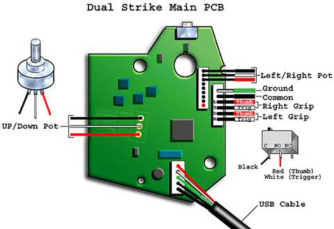 HOW TO BUILD YOUR OWN STAR WARS YOKE FROM EASY TO FIND MATERIALS Star Wars Atari Wiring Diagram on ps2 wiring diagram, nes wiring diagram, xbox 360 wiring diagram,