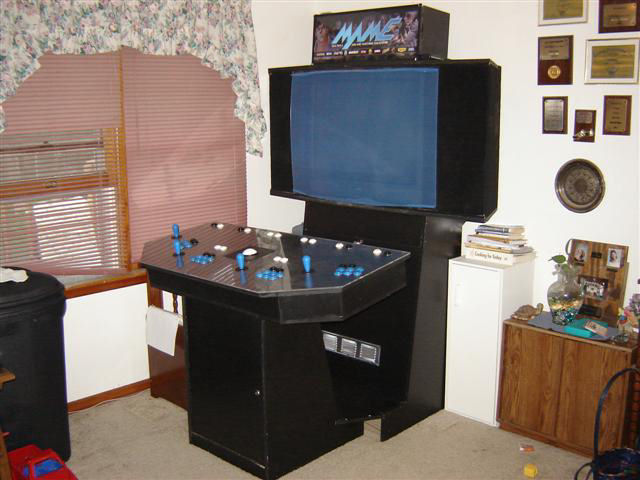 how to build 4 player arcade cabinet 3