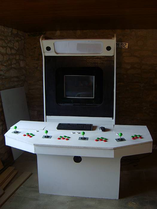 50 4 player arcade cabinet plans